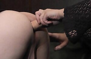 Female domination get hitched fucks non-standard T-Girls