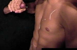 Enormous rod Feast perverse sucking off gay porno