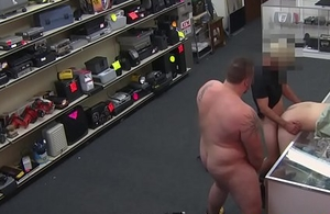 Undeceptive pawnshop thief assfucked to pay