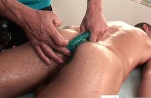 Tristan acquiring his anus stuffed delighted video