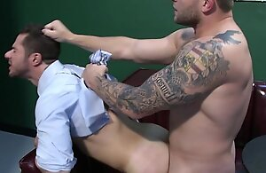 Dean Monroe pounding bottom arse