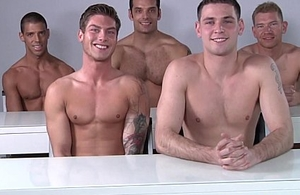 Male model orgy make sure of some pro posing