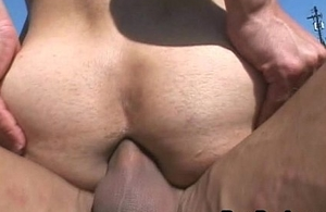 X-rated Gay Latino Acquires Covetous Irritant Rammed Hard