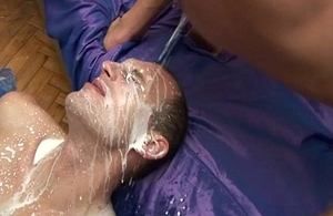 Gay Ass Wringing Cum
